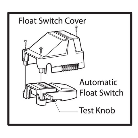 Attwood Automatic Bilge Pump Switches