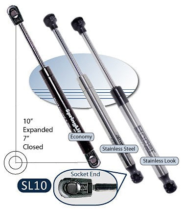 Attwood Springlift SL10 & ST10 Gas Springs - BacktoBoating