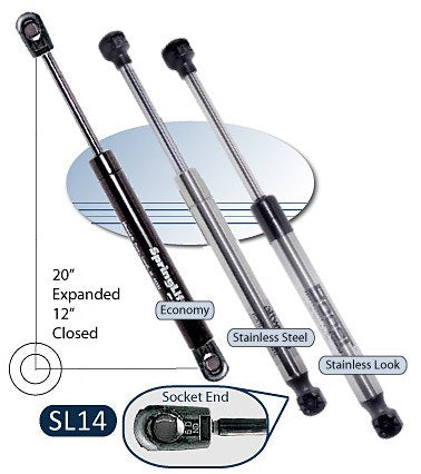 Attwood Springlift SL14 & ST14 Gas Springs - BacktoBoating