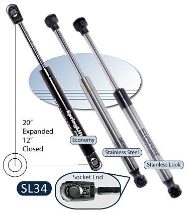 Attwood Springlift SL34 Gas Springs - BacktoBoating