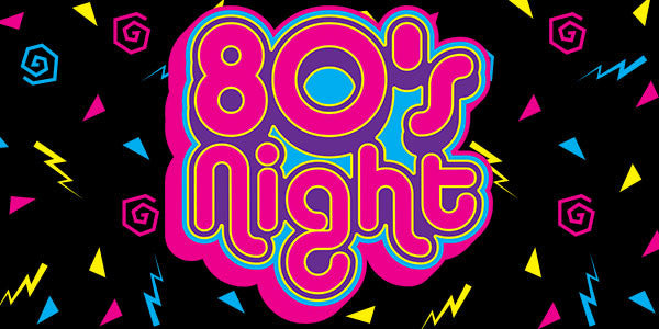 80's Night at Susan Loves William Boutique