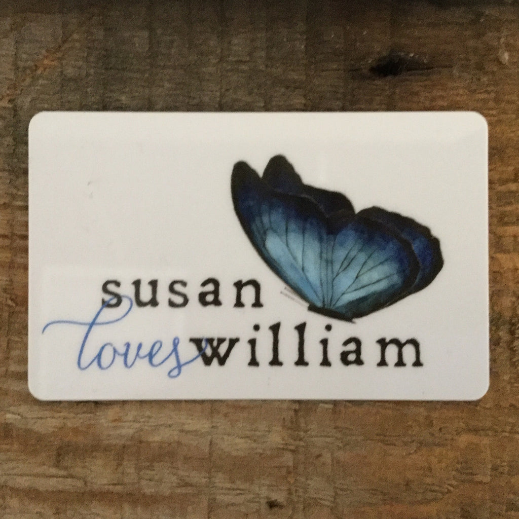 Susan Loves William Gift Card