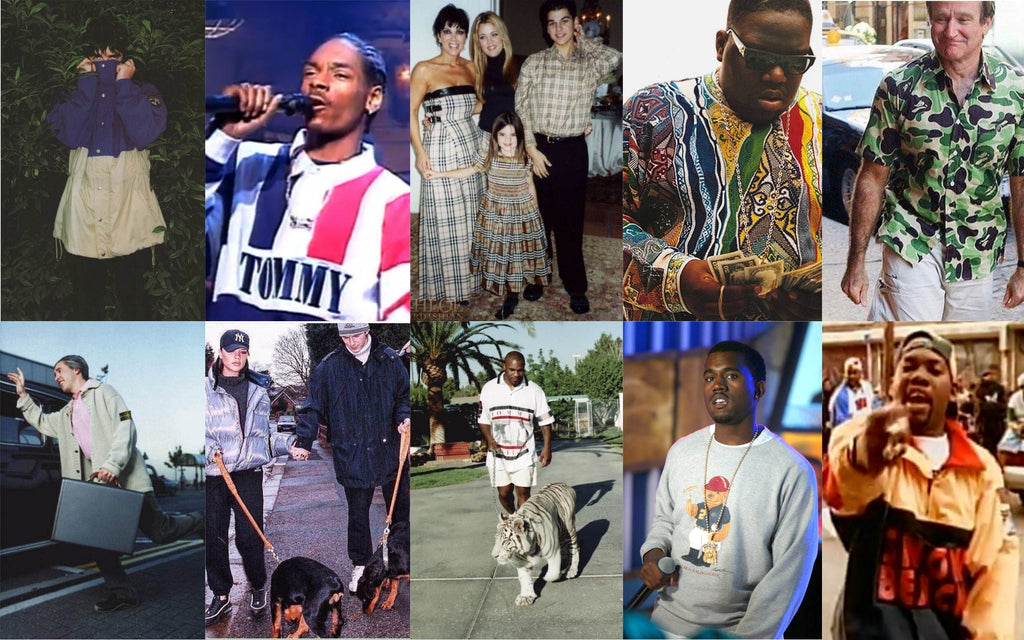 OUR TOP 10 - CELEBRITIES WEARING ALL THINGS WAVEY