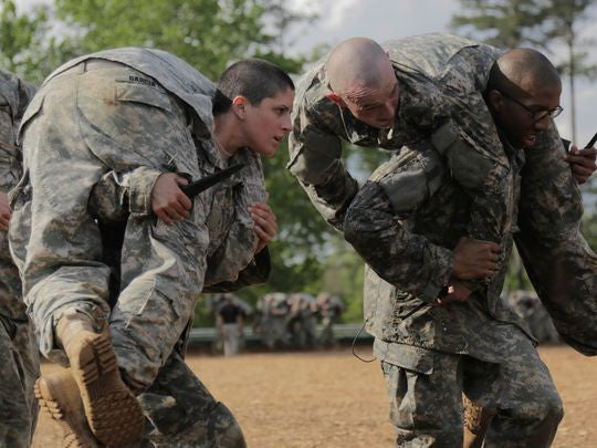 Meet Capt. Kristen Griest: The FIRST Female Infantry Officer!