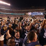 "Navy Wins ""America's Game"" Vs. Army"