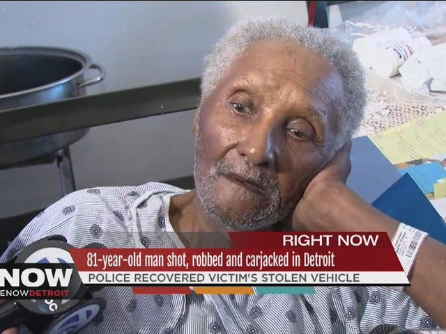 Detroit Rallies Behind 81-Year Old Veteran Shot, Robbed & Carjacked