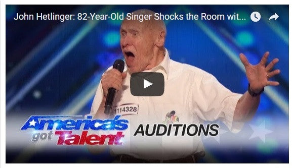 82-Year-Old Veteran Rocks 'America's Got Talent' !!!