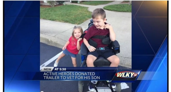 Active Heroes Replaces Trailer For Army Veteran's Son After Theft!