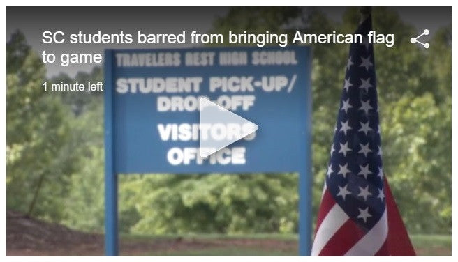American Flags Banned In South Carolina High School