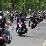 Bikers Rally for Veterans and Atlanta Braves Bowl with Military Families