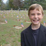 Cemetery Removes Flags Young Boy Placed on Veterans' Graves