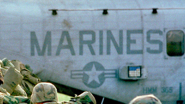 Civilians Continue Search for 12 Missing Marines After Official Search Ends