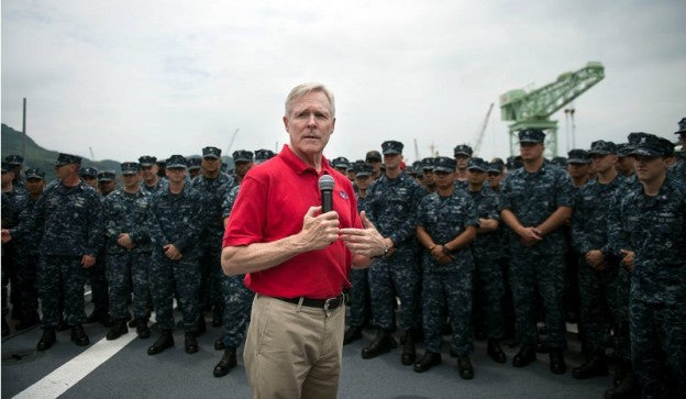 Congressman Says Navy Secretary a 'Greater Threat' to Marines than ISIS