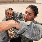 Female Soldiers Participating in Army Ranger Course for First Time