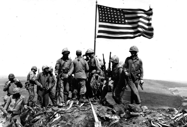 Breaking Military News: WW II Marine Hero Who Led Charge During Battle of Iwo Jima Dies