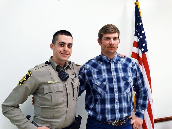Video: Marine Veteran Saves Texas Deputy's Life