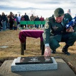 Military Dog Killed in Wyoming Receives Soldier's Burial