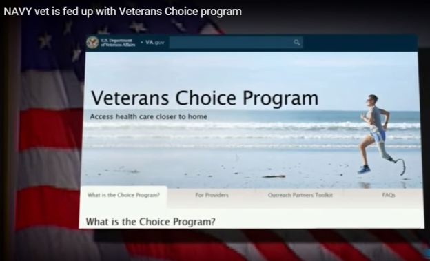 Video: Navy Veteran and Wife Warn Others to Steer Clear of Veterans Choice Program