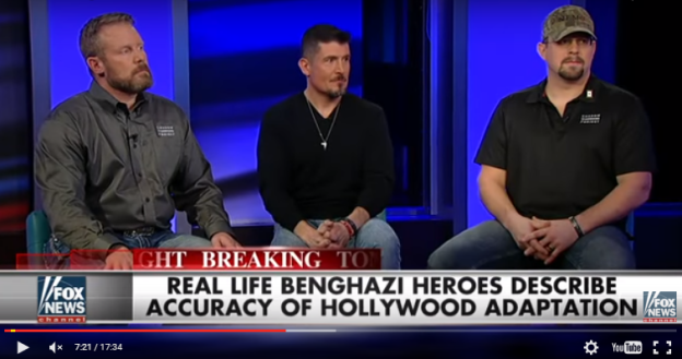 WATCH: Real-Life Benghazi Heroes Discuss '13 Hours' Movie