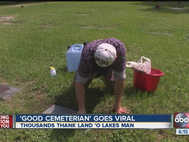 THANK YOU: His Story Went Viral For Cleaning Our Heroes Graves (WATCH HERE)