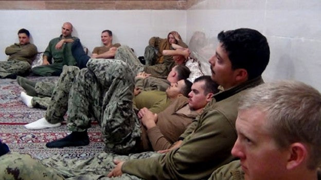 Breaking Military News: US Navy Sailors Held by Iran Are Released With Their Boats
