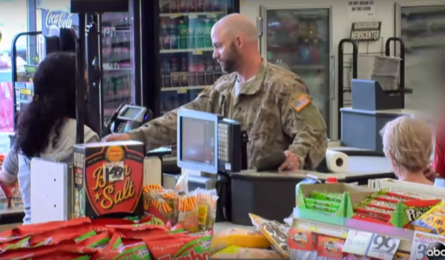 Viral Video: Veteran Can't Pay for Groceries in San Antonio, Texas