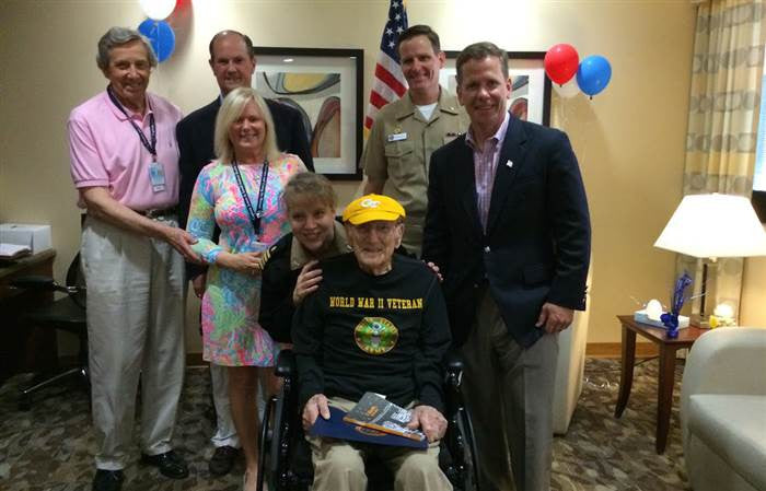 Heart Warming Video of WWII Veteran Fulfilling His Dream