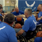 Video: Wounded Troops Speed Up Healing at Air Force Event