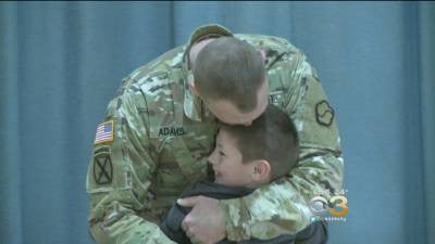 Father Comes Home And Gives His Son The Surprise Of A Lifetime!