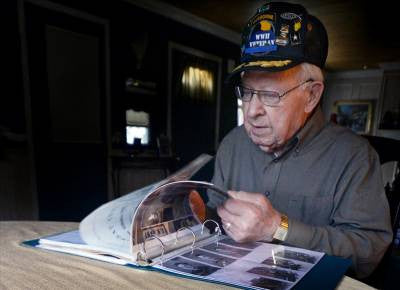 95-Year-Old Veteran Looks Back On His Time Spent In WWII