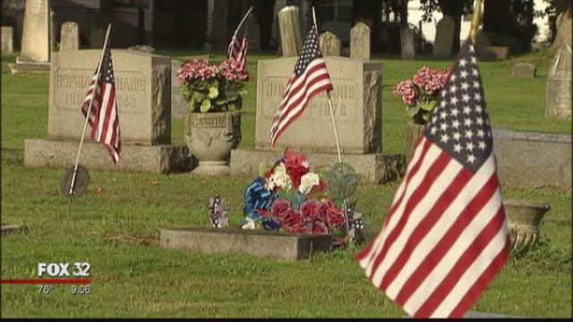 Veterans' Grave Sites Robbed In Indiana City
