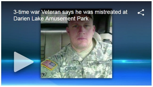 Amusement Park Humiliates Vet Shortly After Other Double Amputee Vet Is Killed On Ride