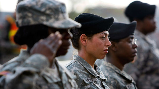 More women will strengthen U.S. military