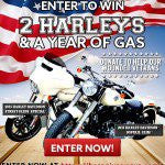 It's Back...Win 2 Harleys and a Year of Gas!