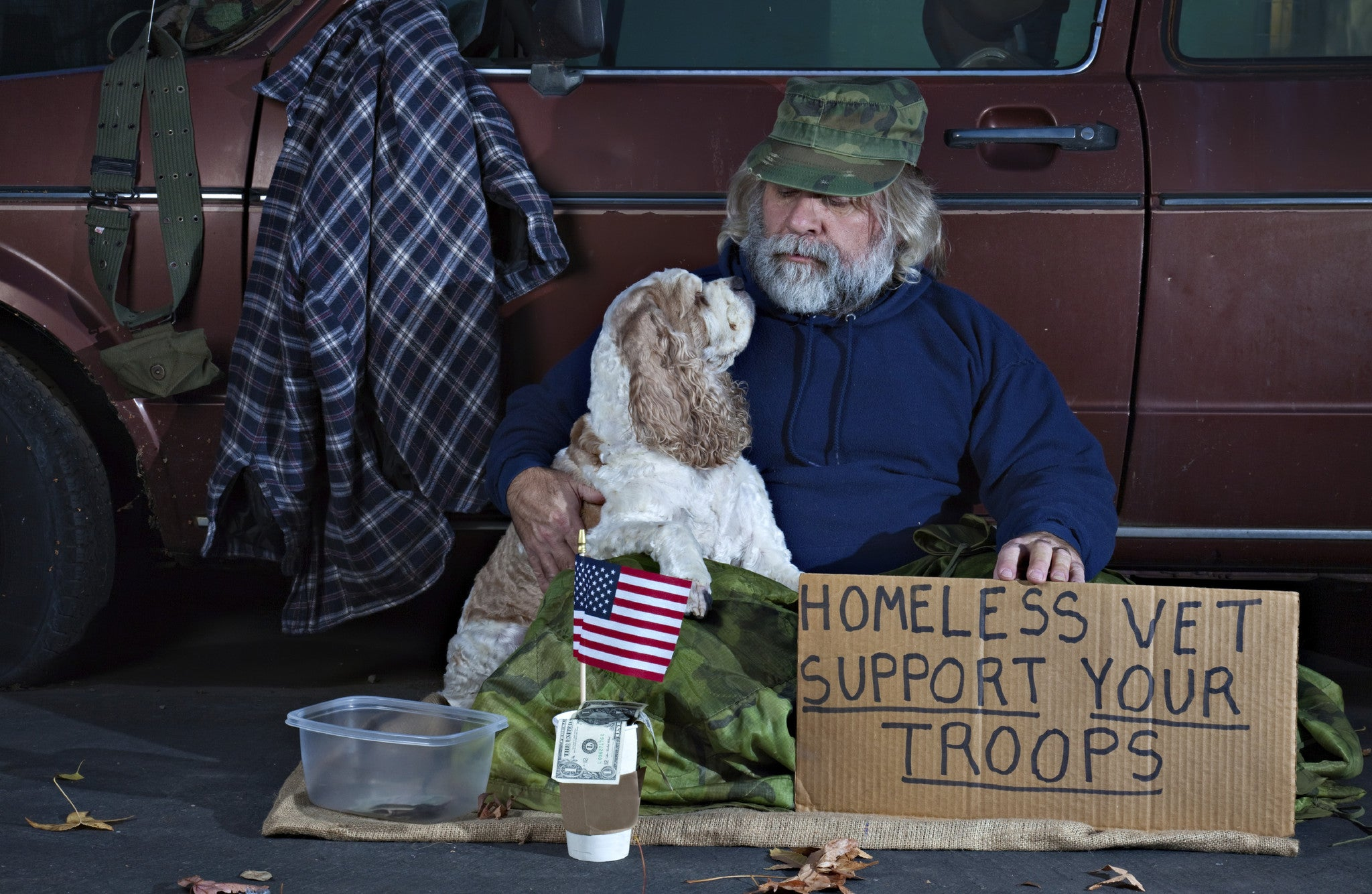 Report Reveals Veteran Homelessness Dropped By 50%!
