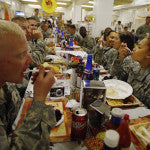 Deployed Service Members Receive A Taste Of Home This Thanksgiving