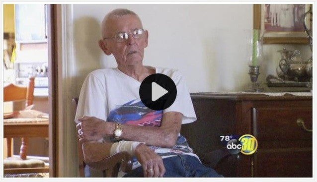 WWII Veteran Has Wrist Slashed During Home Invasion