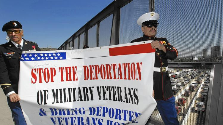 Should Serving In The US Military Be Enough To Prevent Deportation? (Video)