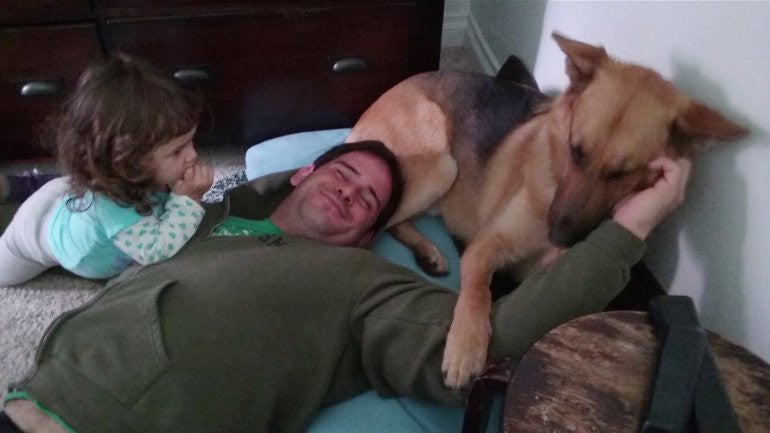 This Veteran Was Reunited With His Service Dog...Thanks To Social Media!