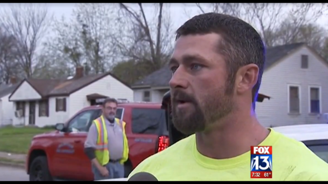 Marine Vet Saves Paralyzed Man From House Fire