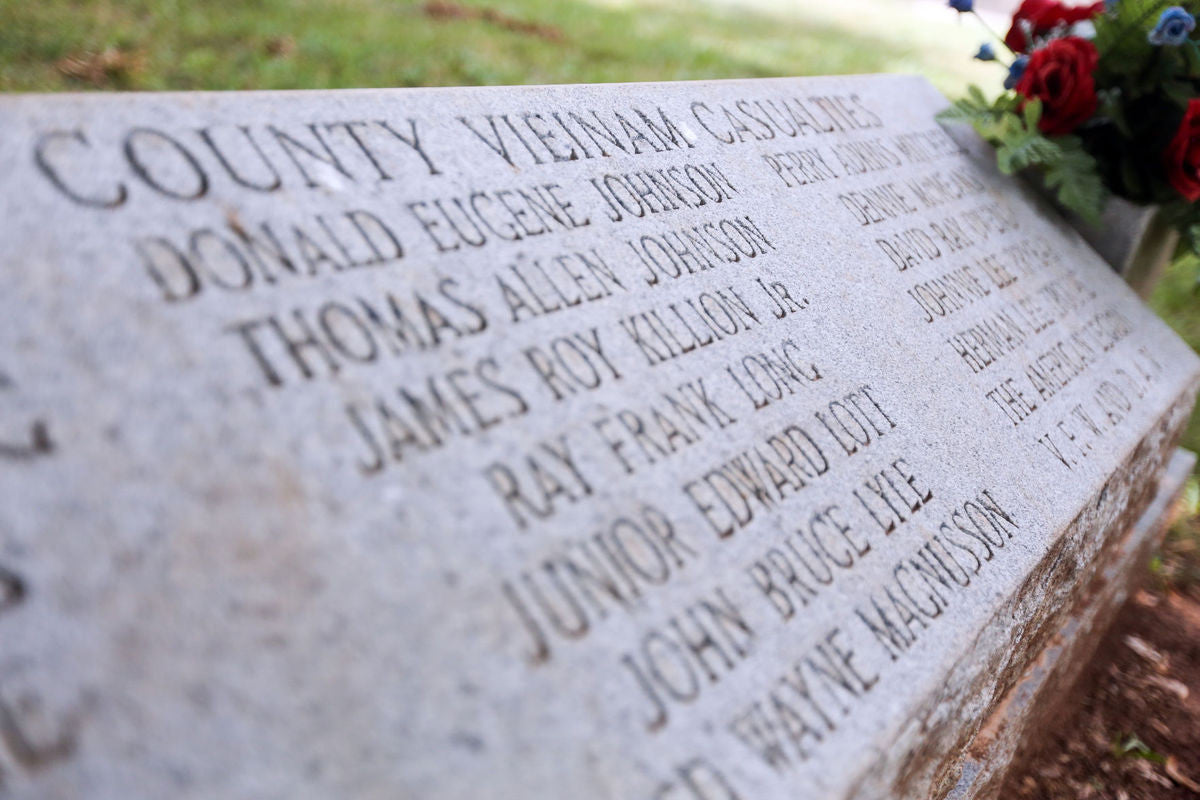 Veteran Determined To Fix Mistake Made On Vietnam Memorial