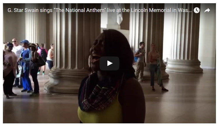 Amazing Rendition of National Anthem Goes Viral!