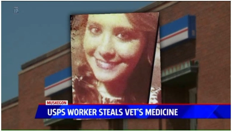 Postal Worker To Be Sentenced For Stealing Veteran's Meds
