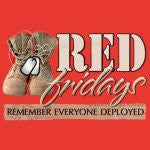 Wear Red On Fridays To Support Deployed Service Members
