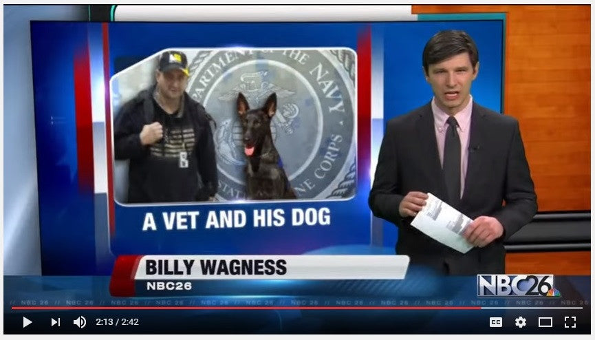 Vet Fired For Wanting To Bring Service Dog to Work