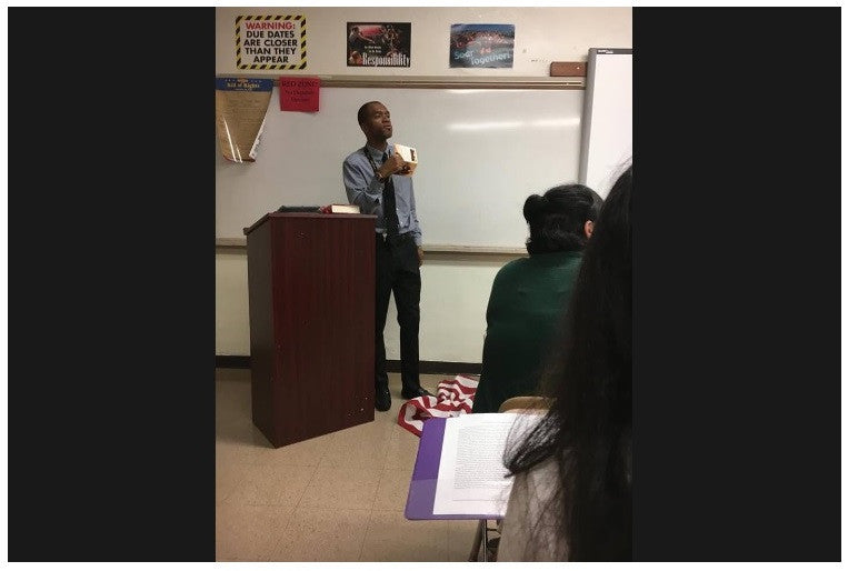 Fayetteville Teacher Under Fire For 'Stomping' On Flag In Class