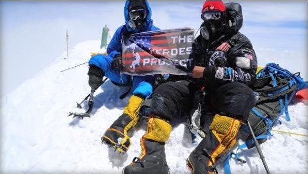 Wounded Veteran Conquers Mount Everest