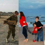 Military Family's Clever Christmas Card Puts Things Into Perspective
