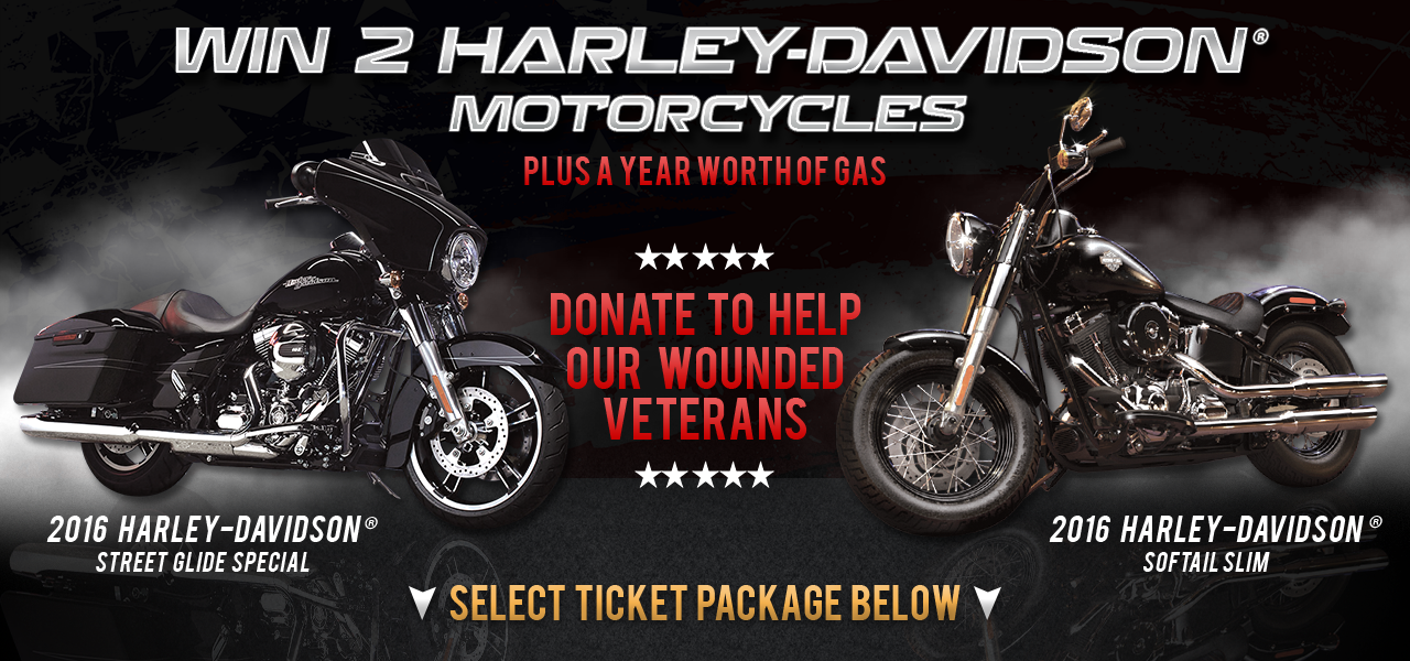 Purchase Tickets for Our Harley Davidson Contest