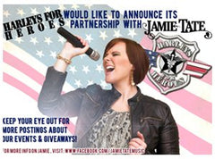 Harley for Heroes Partnership with Jamie Tate